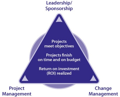 Project Change Triangle