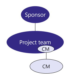 Team Structure - CM in and outside of project team