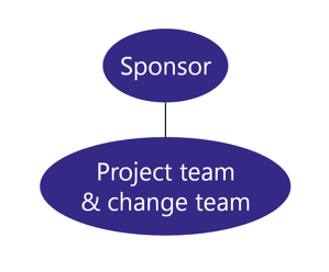 Team Structure - Change team and project team together
